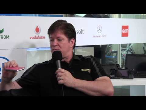 Chad Sayers Techlounge Tag 2 Cebit 2015