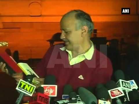 Delhi CM-designate Arvind Kejriwal pays courtesy call on President Pranab Mukherjee
