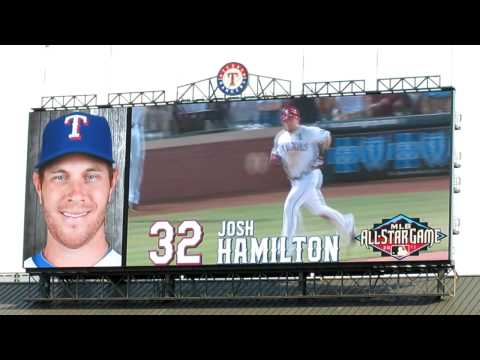 Texas Rangers Starting Lineup vs Minnesota Twins 7/29/2011