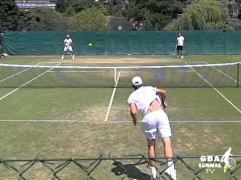Ferrer & Roddick pronate in Slo Mo