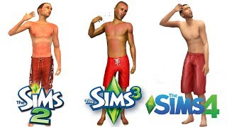 ♦ Sims 2 vs Sims 3 vs Sims 4 : Seasons - Summer