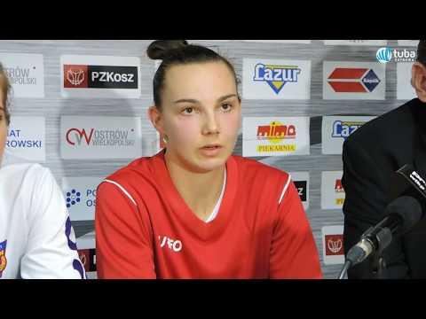 Konferencja pomeczowa - TS Ostrovia - Artego Bydgoszcz