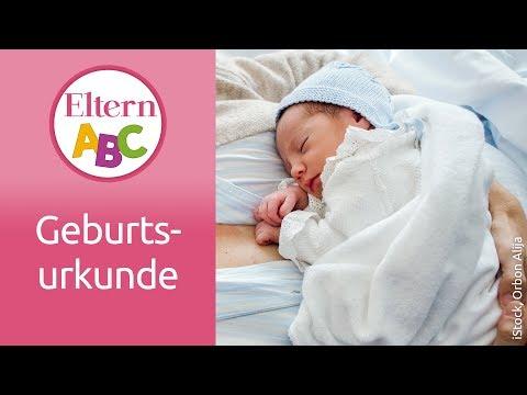 Wie, wann und wo beantrage ich die Geburtsurkunde? | Schwangerschaft | Eltern ABC | ELTERN