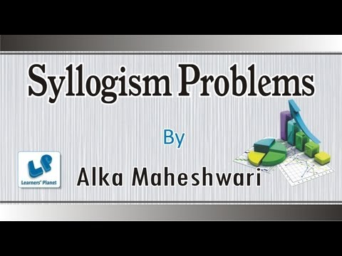 Syllogism-Problems based on statements and conclusions Reasoning...