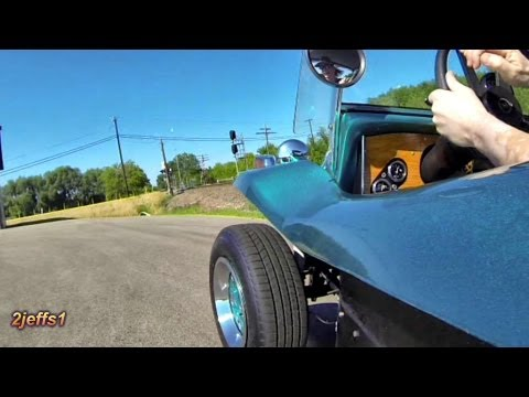 VW Subaru Dune Buggy Ride Along Testing GoPro. Michelin tires & Brakes