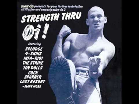 Strength Thru Oi! We Outnumber You - Infa-Riot