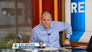 Destruction of Bill Belichick Presser on The RE Show - 7/29/15