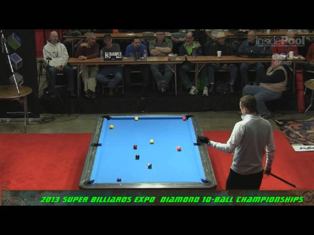 Super Billiards Expo 2013 Finals Shane Van Boening Vs. Thorsten Hohmann