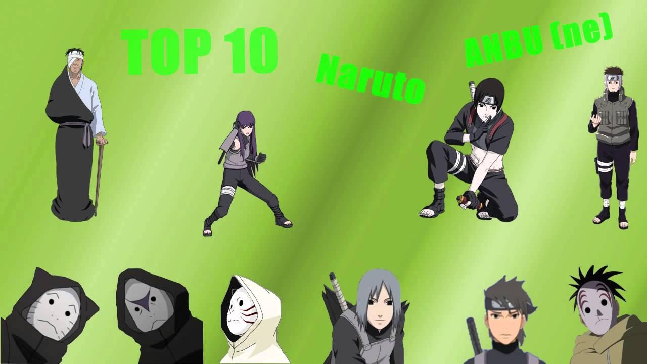 Naruto As A Anbu NARUTO Top 10 -   ANBU-ne
