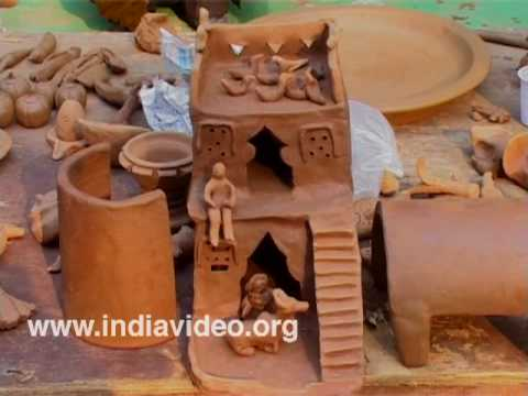 Creating wonders with clay