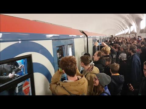 Торжественный запуск Электропоезда серии 81-765 Москва