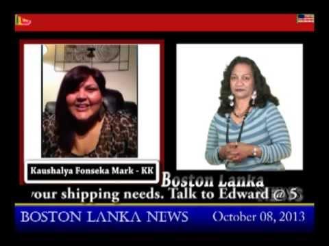 Boston Lanka with KK