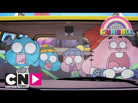 The Amazing World of Gumball | Crashing Into Santa | Cartoon Network