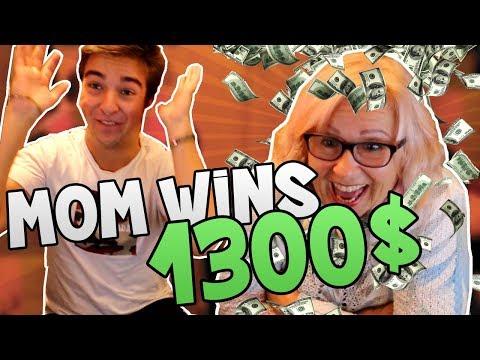 MOM WINS 1300$! (CS:GO - Gambling)
