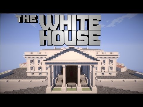 Minecraft Pocket Edition White House ! [DOWNLOAD]