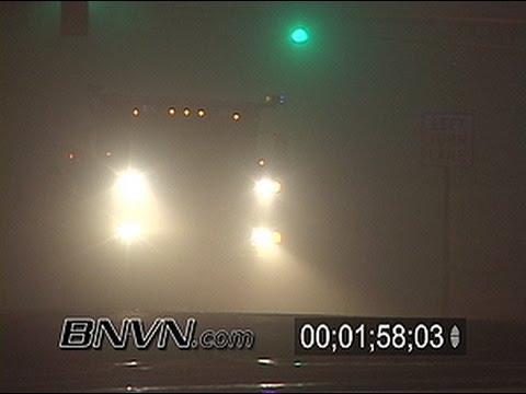 12/22/2006 Overnight fog footage and traffic