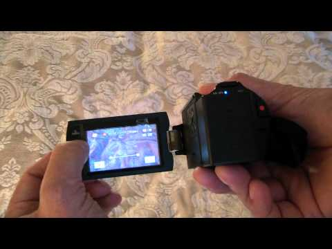 Samsung HMX-H205 unboxing and review - H203, H204, H200, HD Camcorder