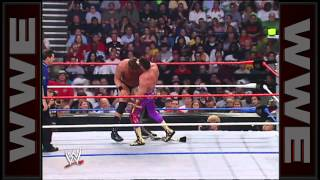 Eddie Guerrero vs. JBL - WWE Championship Bullrope Match_ Great American Bash 2004