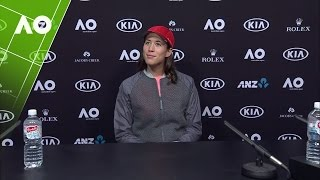 Garbiñe Muguruza press conference (4R) | Australian Open 2017