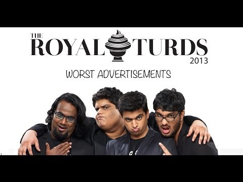 Royal Turds - Worst Ads (tanmay Bhat, Gursimran Khamba) video