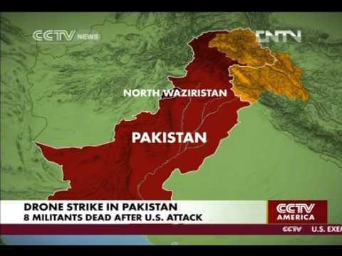 8 Militants? Dead After US Drones Strike A House In North Waziristan; 'Pakistan ISI Says'