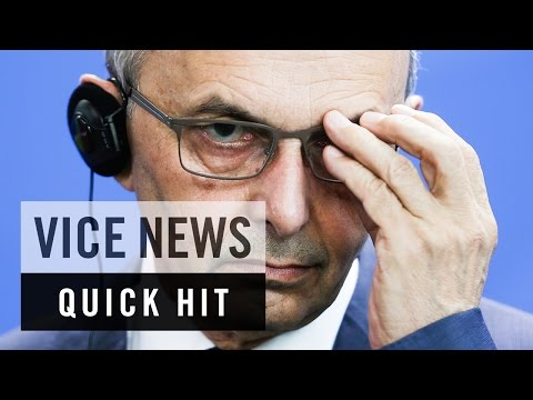 Eggs Fly in Kosovo's Parliament: VICE News Quick Hit