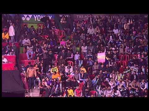 Saina Nehwal vs Carolina Marin |WS| F-Match 2 -Syed Modi Int'l Badminton Championships 2015