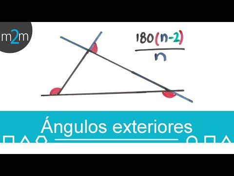 Suma de los ángulos exteriores de un polígono