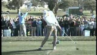PGA Tour Players Golf swing videos (Slow Motion Face On view)
