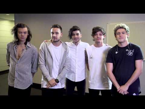 One Direction's new message for fans in South-East Asia.
