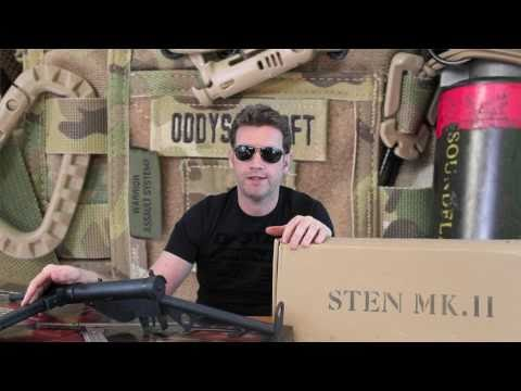 ASG Sten Mark II and the Viva Sten Mark II Review