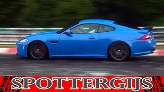 12x Jaguar XKR-S 2012 FLAT OUT at the Nürburgring! Loud sounds!