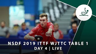 Day 4 | 2019 ITTF World Junior Table Tennis Championships - Table 1 Session 1