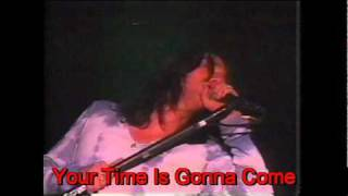 Watch Black Crowes Your Time Is Gonna Come video