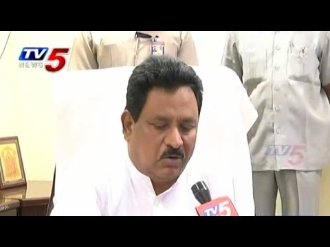 AP Deputy CM China Rajappa Face to Face with TV5 over Vakatippa Fireworks Victims : TV5 ews