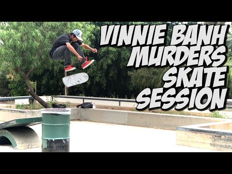 SKATING WITH VINNIE BANH & BLKWD DENIM - A DAY WITH NKA -