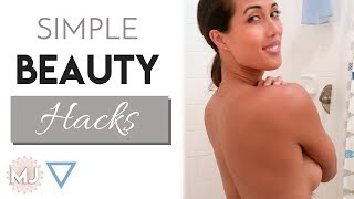Simple Beauty Hacks for Time, Money, & Health