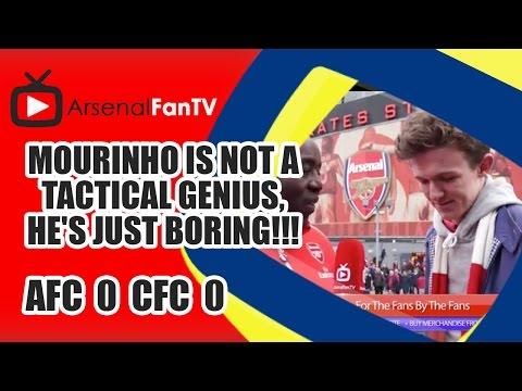 Mourinho Is Not A Tactical Genius, He's Just Boring!!! | Arsenal 0 Chelsea 0