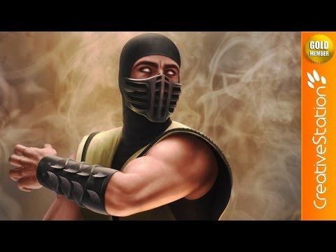 Scorpion - Speed Painting (#Photoshop)   CreativeStation GM