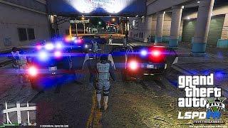 GTA 5 LSPDFR 0.3 - EPiSODE 8 - LET'S BE COPS - SWAT PATROL (GTA 5 PC POLICE MODS) UNMARKED EXPLORER