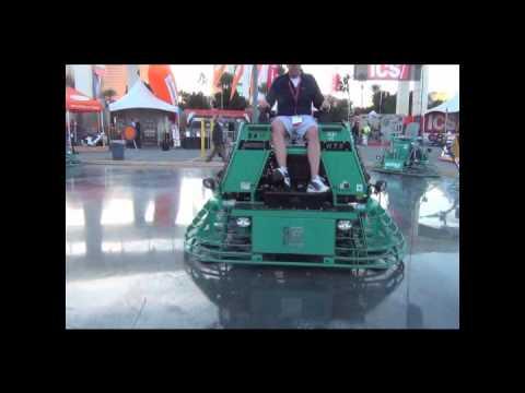 Multiquip Whiteman Htx Ride On Trowel Youtube