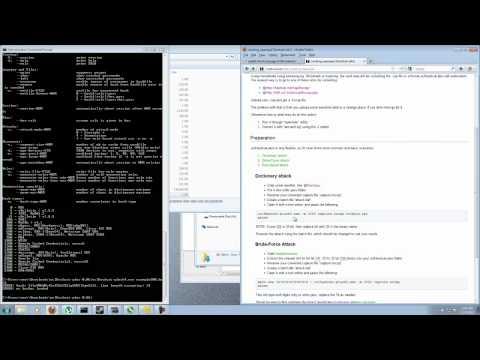 Cracking a WPA handshake with OclHashcat-Plus