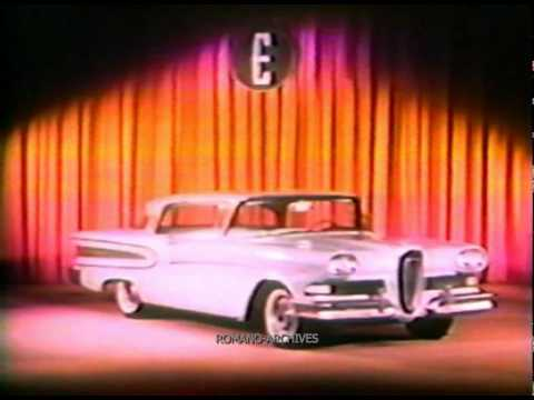 1957 CONFIDENTIAL! THE EDSEL Complete Film for Ford Managers 3 of 4