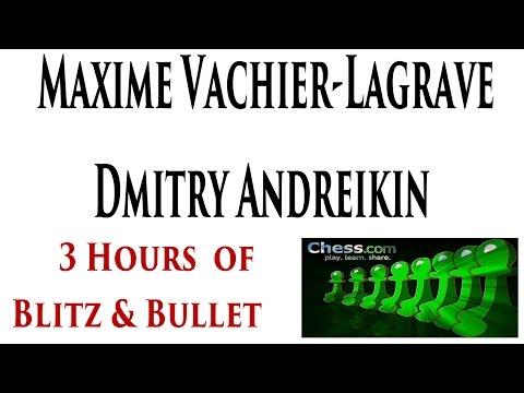 GM Maxime Vachier-Lagrave vs GM Dmitry Andreikin Chess Blitz and Chess Bullet on Chess.com