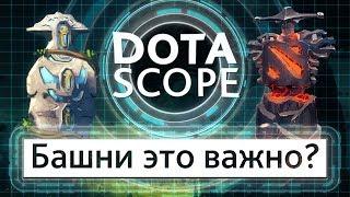 Dotascope 4.0 Вышки это важно?