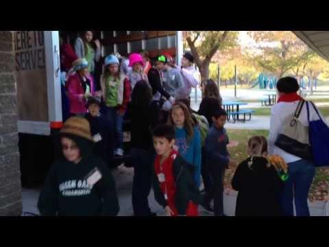 Green Oaks School Food Drive 2013