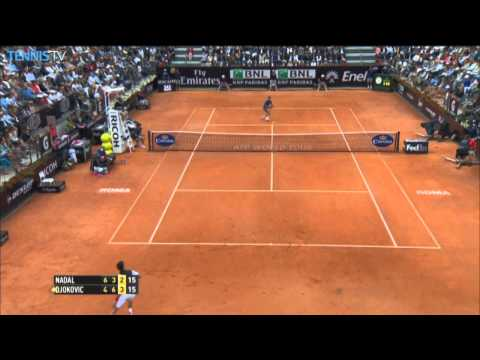 Rome 2014 Final Highlights Djokovic Nadal
