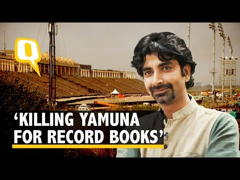 Art of Living Kills Yamuna For The Record Books: Environmentalist