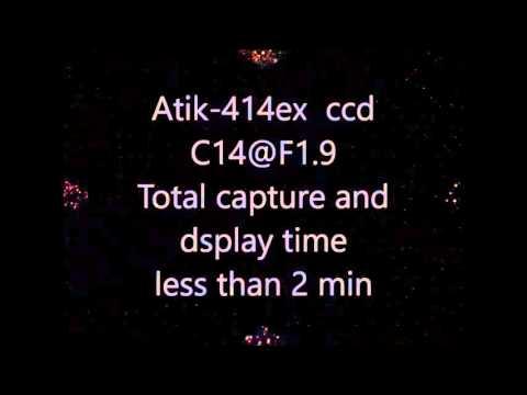 Atik 414ex Live viewing