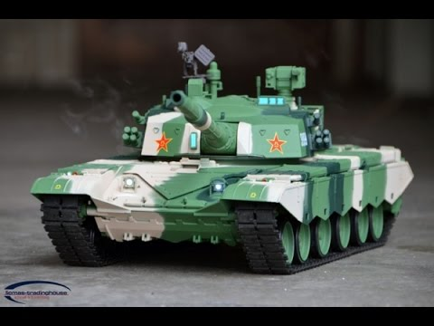 RC TANK 1/16 ZTZ 99 MBT Unboxing.